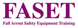 Logo - Fall Arrest Safety Equipment Training, Accredited